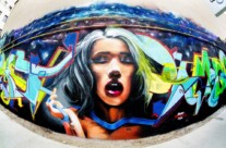 Concurs de street art in Portul Constanta