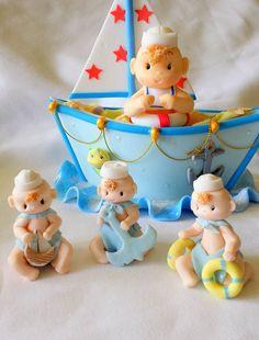 Tort botez tema marina